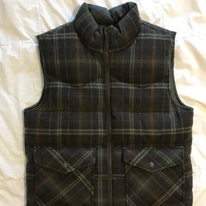 Old a Navy wool puffy vest